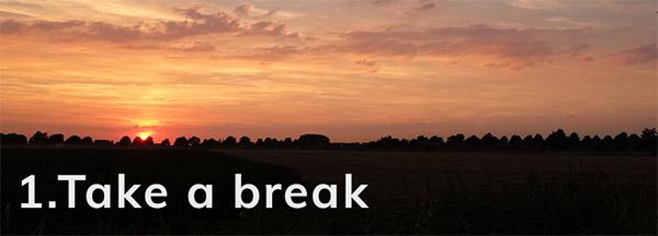 Take a break - Happier Place