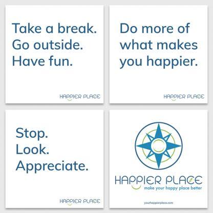 Get Happier Sticker Kit