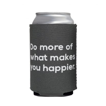 Happier Neoprene Can Cooler - Happier Place koozie