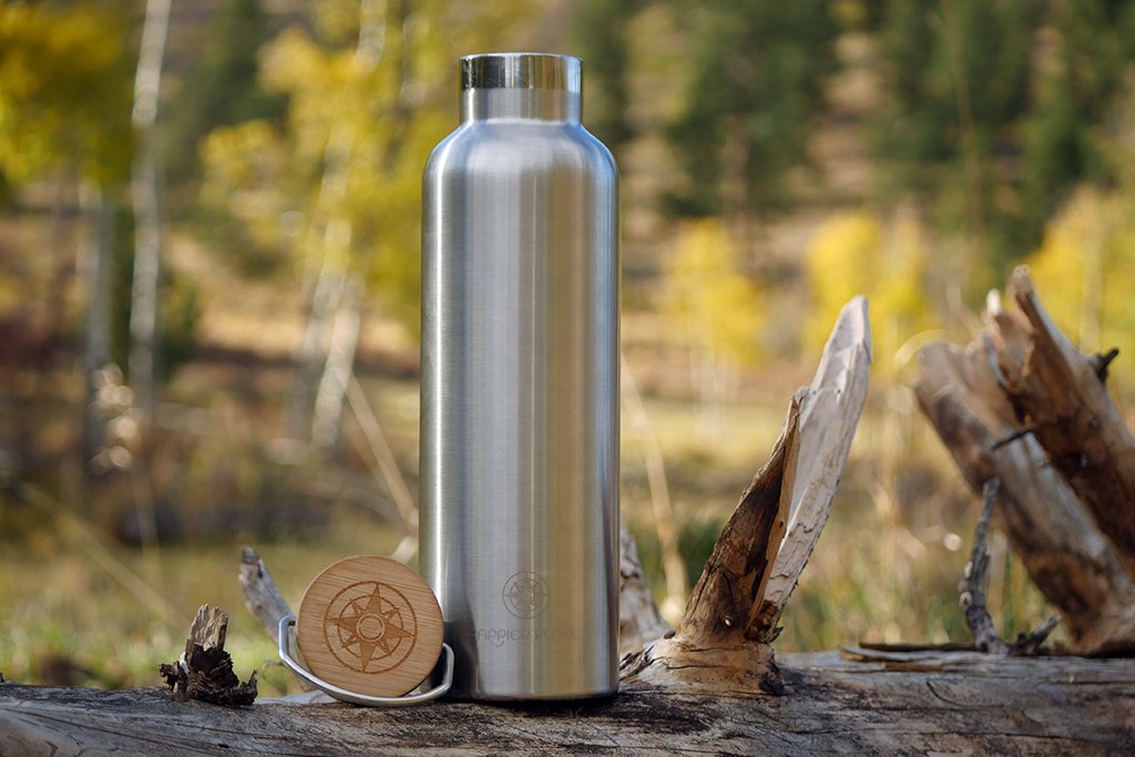 Happier Stainless Steel Bottle - Happier Place