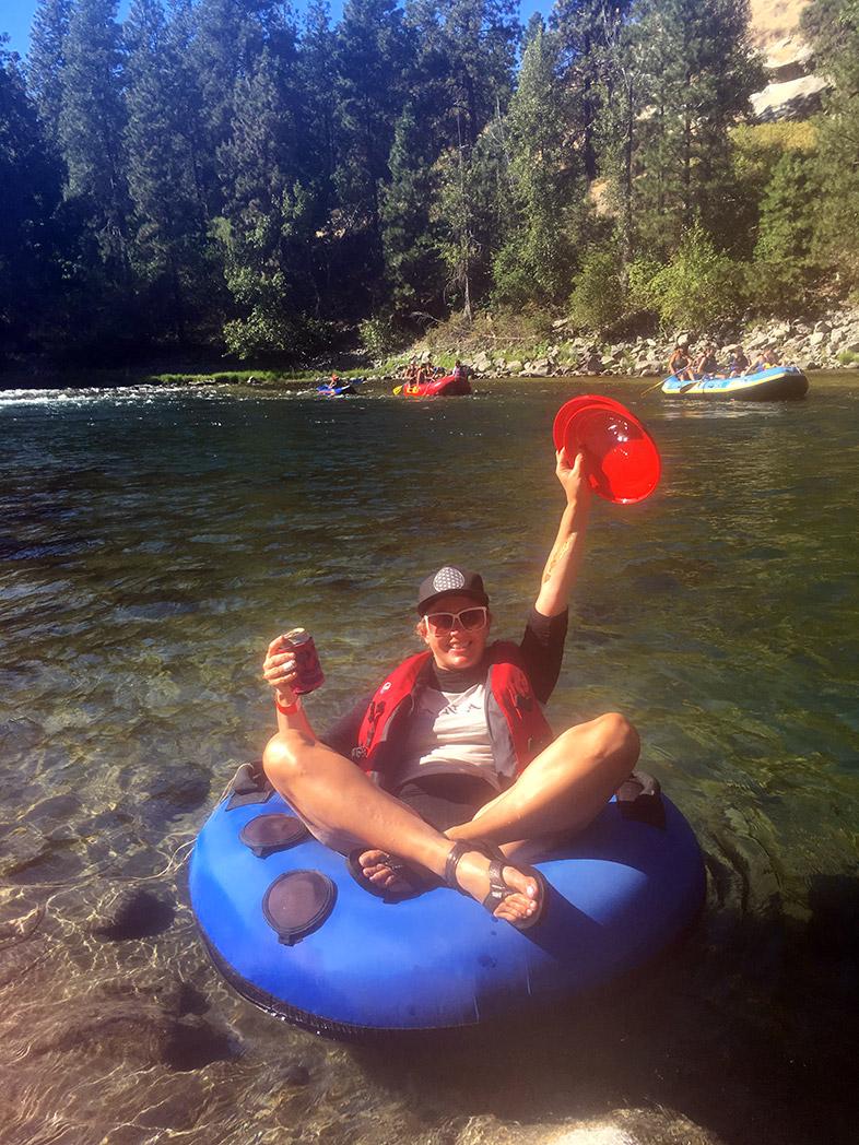 Jess Grotfeldt in the Cascade Mountains - Happier Place