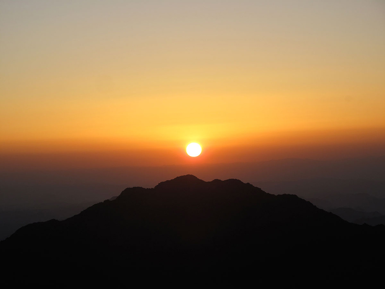 Mount Sinai Sunrise by Adam Groffman - Happier Place