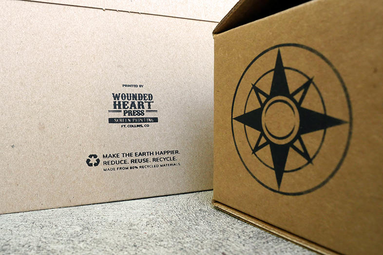 Make the earth happier: reduce, reuse, recycle. - Happier Packagin