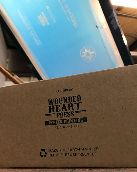 Wounded Heart Press - Happier packaging