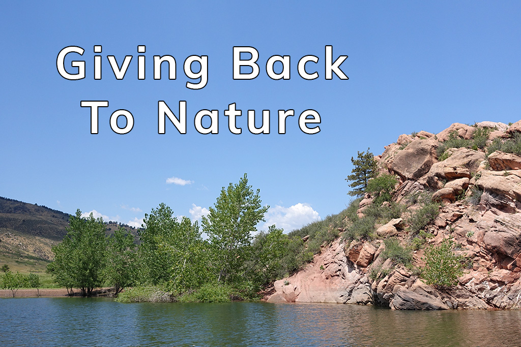 Giving Back To Nature - Happier Place - Happier Earth