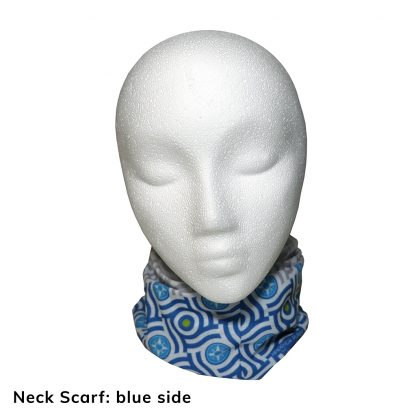 Happier Bandana - blue and grey - Neck Scarf - Happier Place