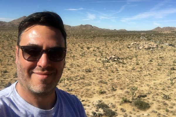 Nick Rufca - Palm Springs desert California - Happier Place
