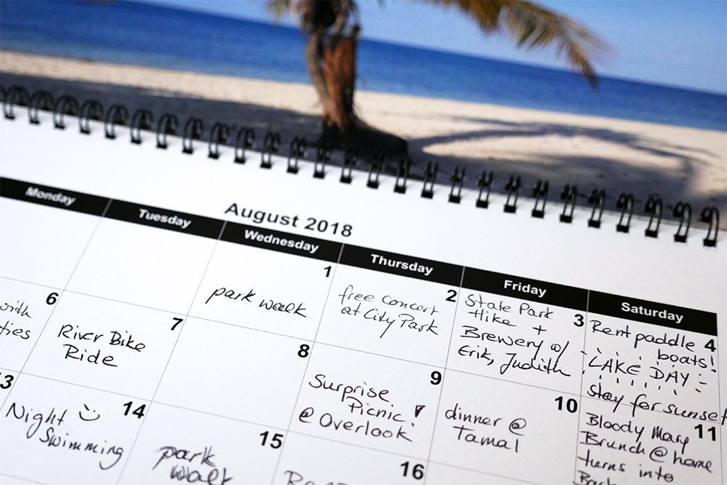 Happier with a Fun-Was-Had Calendar vs. a To-Do List - Happier Place