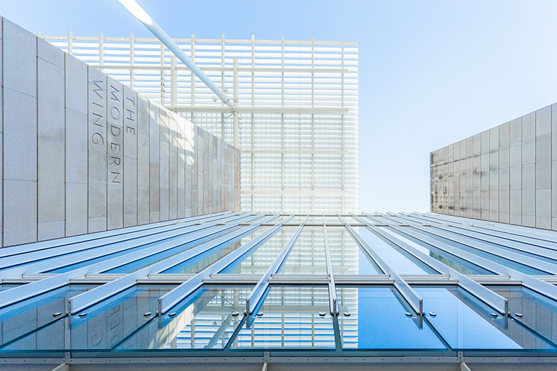 The Modern Wing, Chicago - Photo by Lauri Novak - Happier Place