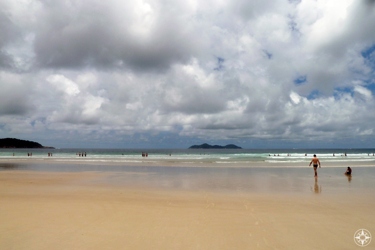 Vast Lopes Mendes Beach is rumored to be one of the most beautiful beaches in the world according to Vogue and Lonely Planet.