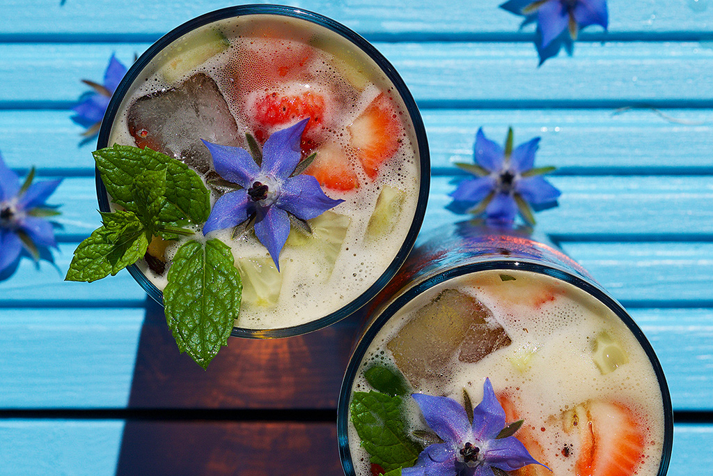 Pimm's Cup Recipe by Azlin Bloor for your Happier Place