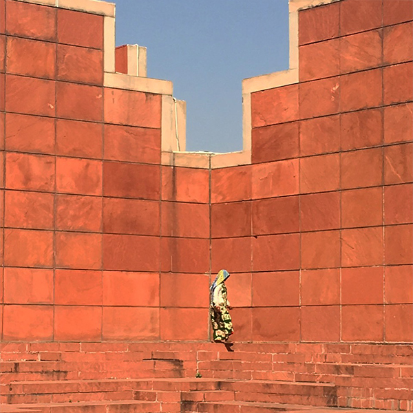 Jawahar Kala Kendra Art Center in Jaipur, India - photographed by John of Lost and Found Travel