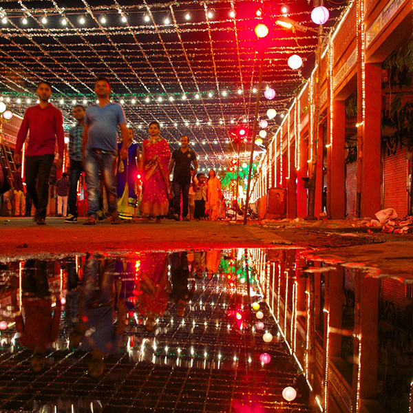 Diwali in Jaipur, India - photographed by John of Lost and Found Travel - Happier Place
