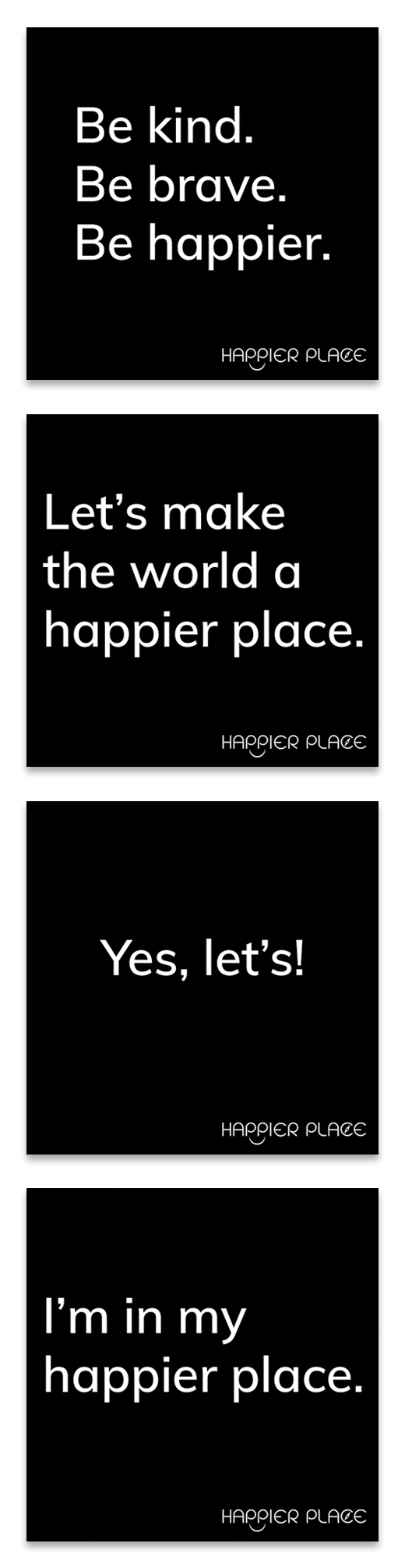 """Make-Happier"" Stickers Kit"