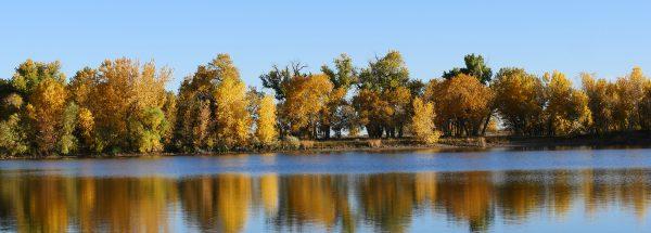 Arapaho Bend Ponds in autumn - Happier Place