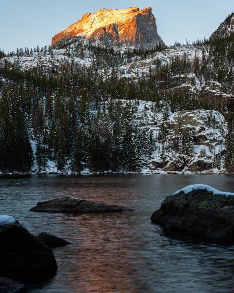 Mountain Sunrise photo by Bryan Clark. Colorado. Happier Place
