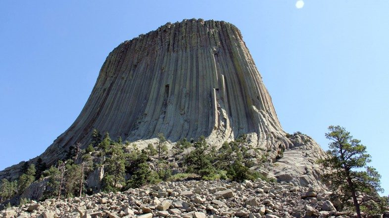 North View of Devils Tower