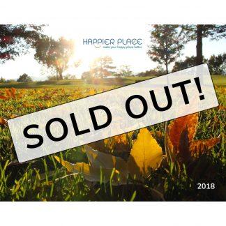 2018 Happier Place Landscape Photography Calendar is sold out.