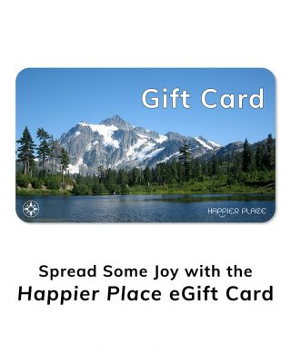 Spread some joy with the Happier Place eGift Card