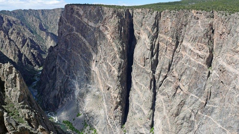 Happier Place Calendar 2019 April Photo: Black Canyon of the Gunnison National Park, Colorado.