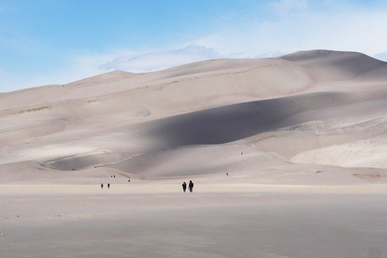 2019 Happier Place Calendar Cover Photo: Great Sand Dunes National Park in Colorado.
