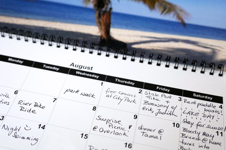 A Happier Year with a Fun-Was-Had Calendar - August - Happier Place