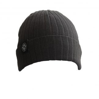 Happier Place Cuffed Beanie - H017-HAT-CHA