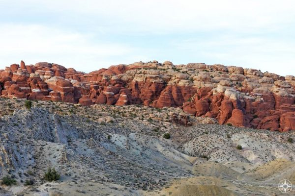 The otherworldly Fiery Furnace section in Arches NP.