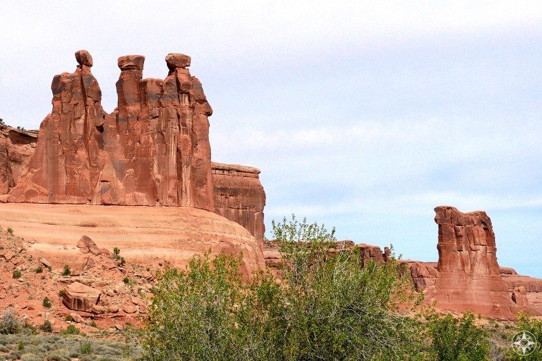 Three Gossips and The Sheep in Arches National Park