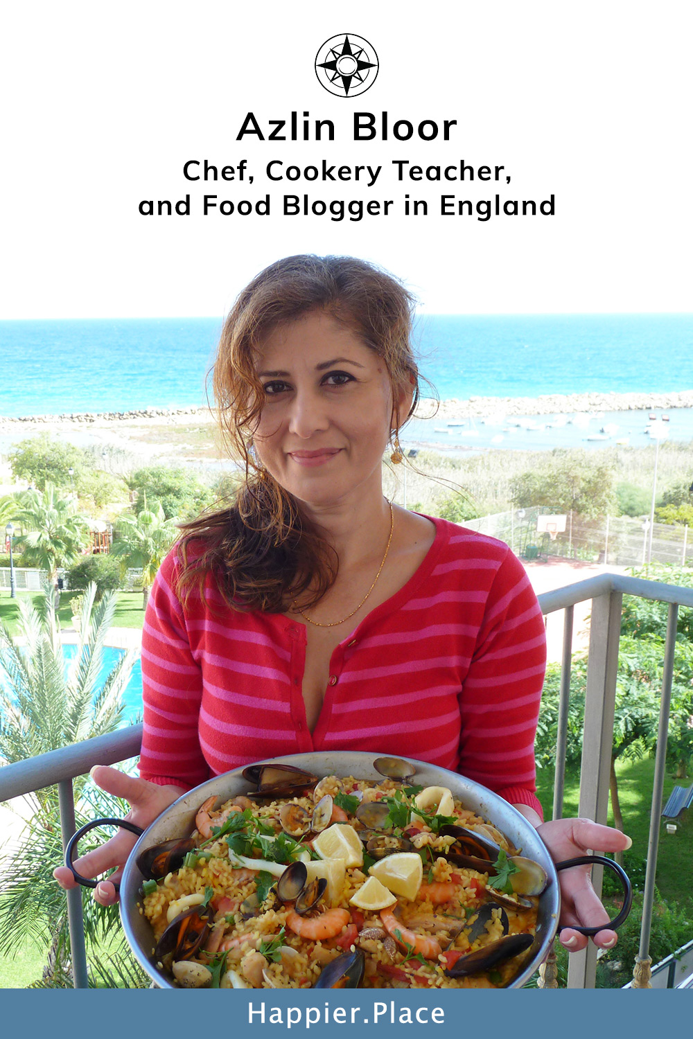 Azlin Bloor: Chef, Cookery Teacher, and Food Blogger (England)