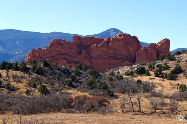 Can you spot the Kissing Camels that are part of North Gateway Rock?