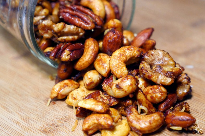 Crack Nuts: Irresistible Savory, Sweet and Spicy Nut Mix