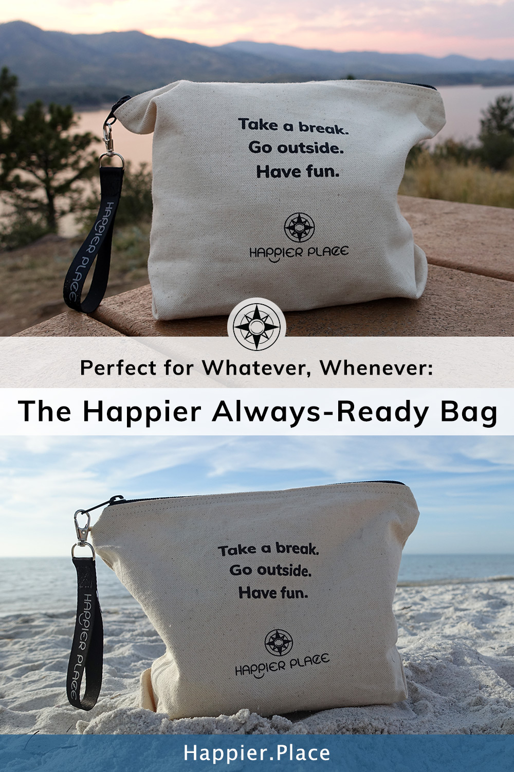 Perfect for Whatever, Whenever: The Happier Always-Ready Bag