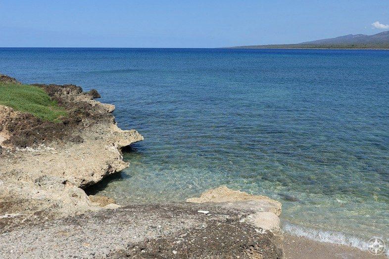 One more look back at the Caribbean Sea in La Boca, Cuba.