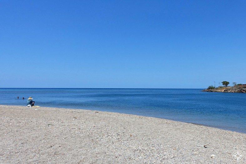 Playa del Rio in La Boca - where the Rio Guaurabo flows into the Caribbean Sea.