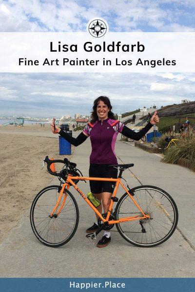 Lisa Goldfarb Fine Art Painter in Los Angeles - Happier Place Profile
