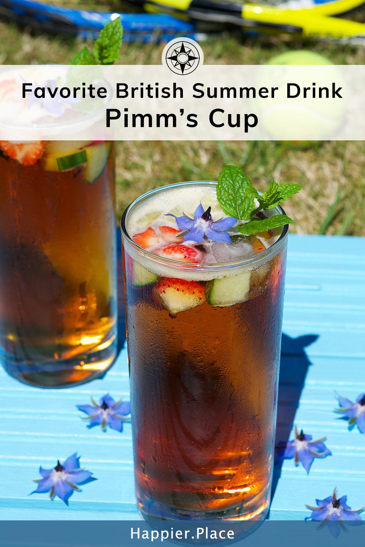 A Favorite British Summer Drink: Pimm's Cup