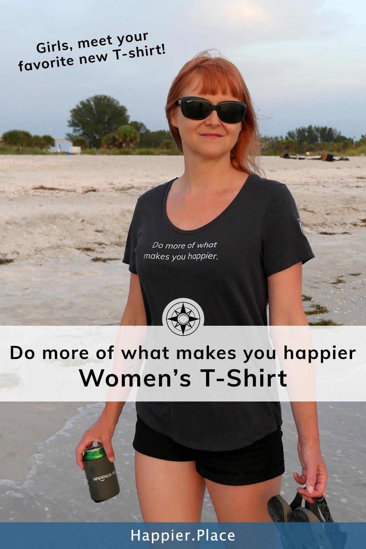 Girls, Meet Your Favorite New T-Shirt: The First Happier Shirt!