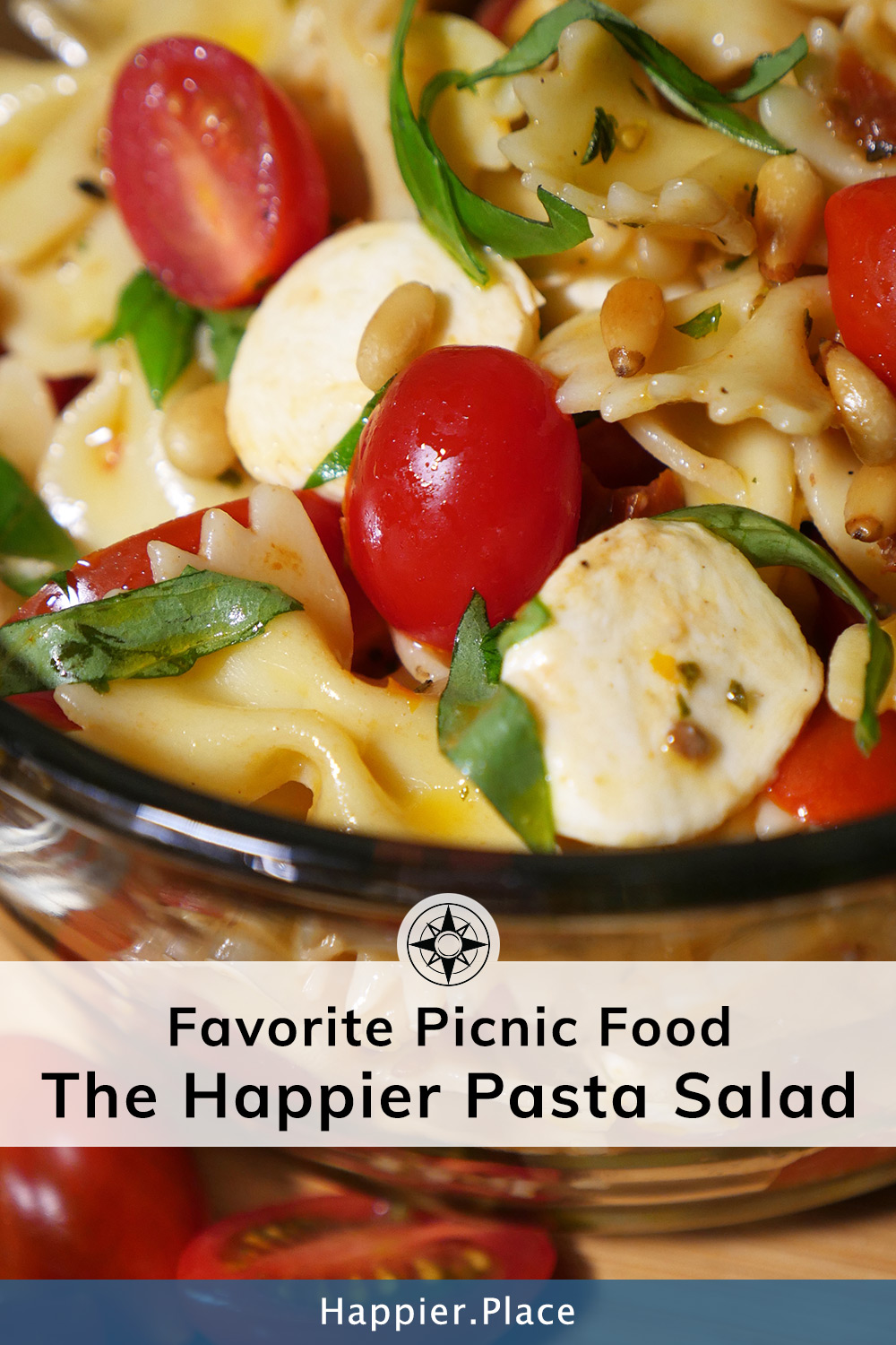 Our Favorite Picnic Food: The Happier Pasta Salad