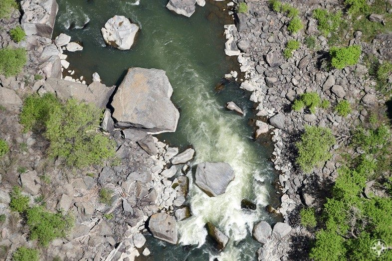 Rapids along the Gunnison River at the bottom of the Black Canyon