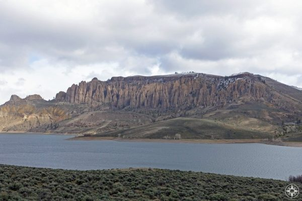 Dillon Pinnacles at the Blue Mesa Reservoir in the Curecanti National Recreation Area just east of the Black Canyon of the Gunnison National Park