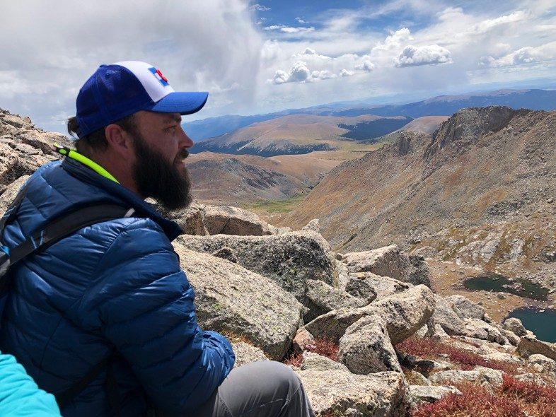 Contemplating Mount Evans Area in Colorado with Jake Gray