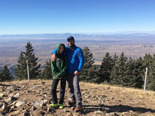 Father and son on Ski Apache in New Mexico - Jake Gray - HappierPlace