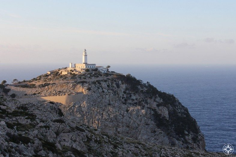The lighthouse of Formentor - the most northern point of Mallorca.