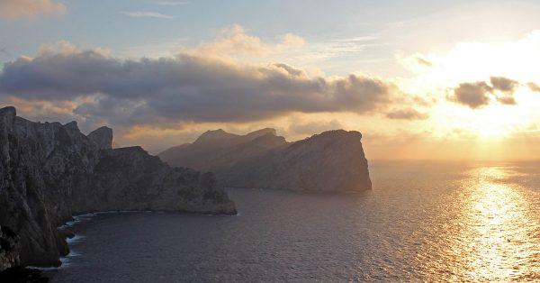 Cap the Formentor Tramuntana Mountain Cliffs Mallorca Spanish island
