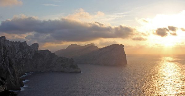 Cap the Formentor Tramuntana Mountain Cliffs Mallorca Spanish island