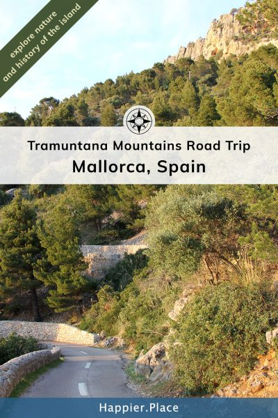 Tramuntana Mountains Road Trip on Mallorca Island in Spain.