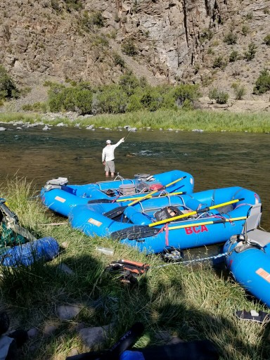 Fly-fishing the Gunnison River with BCA