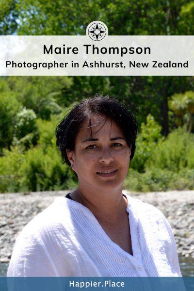 Maire Thompson - Photographer in Ashhurst, New Zealand - HappierPlace