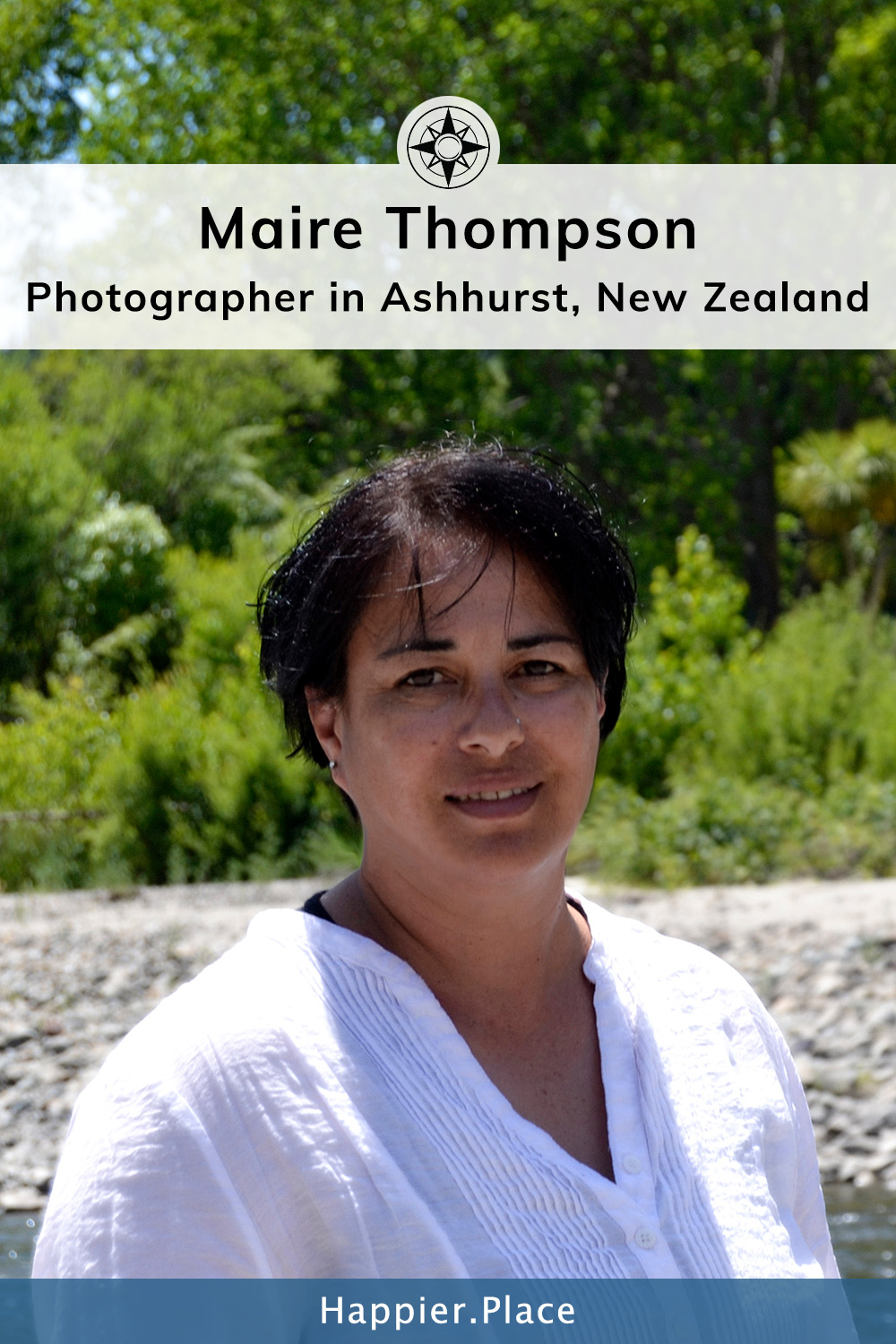 Maire Thompson - Photographer in Ashhurst, New Zealand - Profile for Happier Place